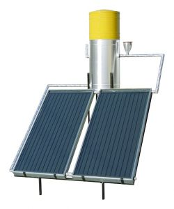 Solar Technology in Action - Anages Solar Water Heater