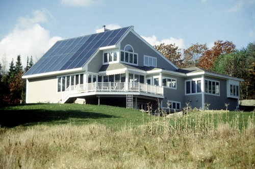 Solar Powered House