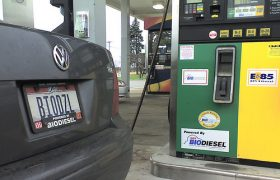 Biodiesel Fuel Filling Station