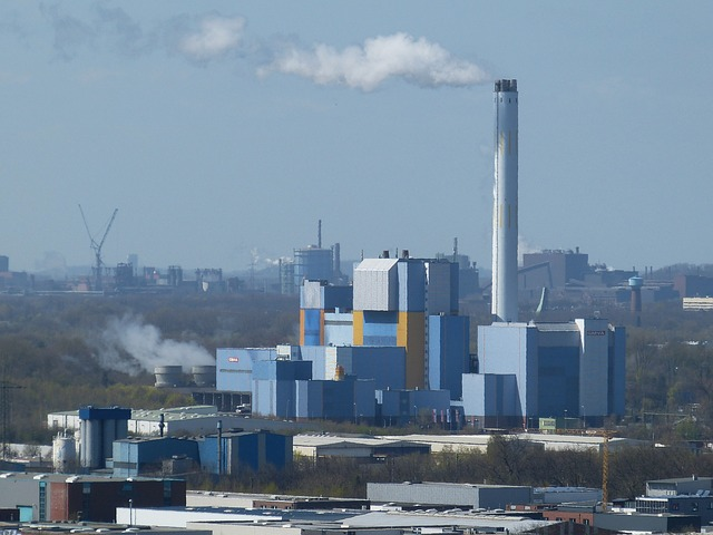 Waste to Energy Incineration Plant in Oberhausen, Germany
