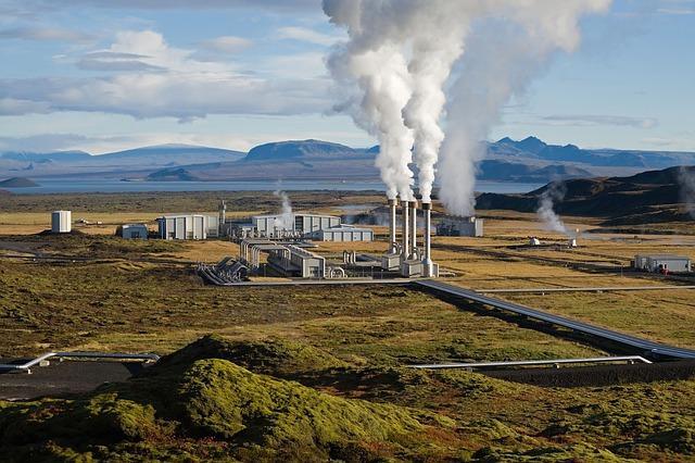 Nesjavellir Geothermal Power Plant Iceland