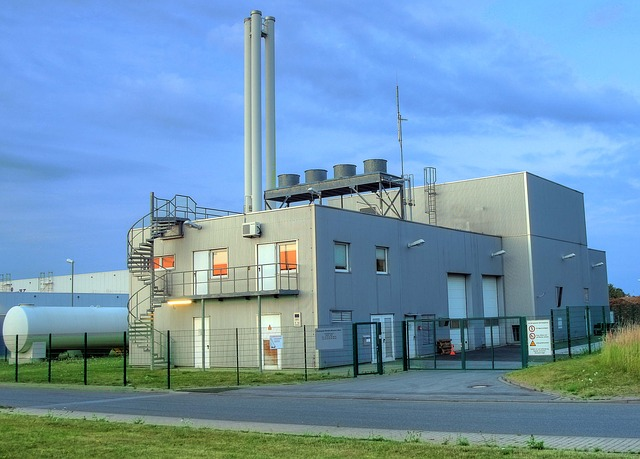 Biomass Heating Power Plant - Werl Germany
